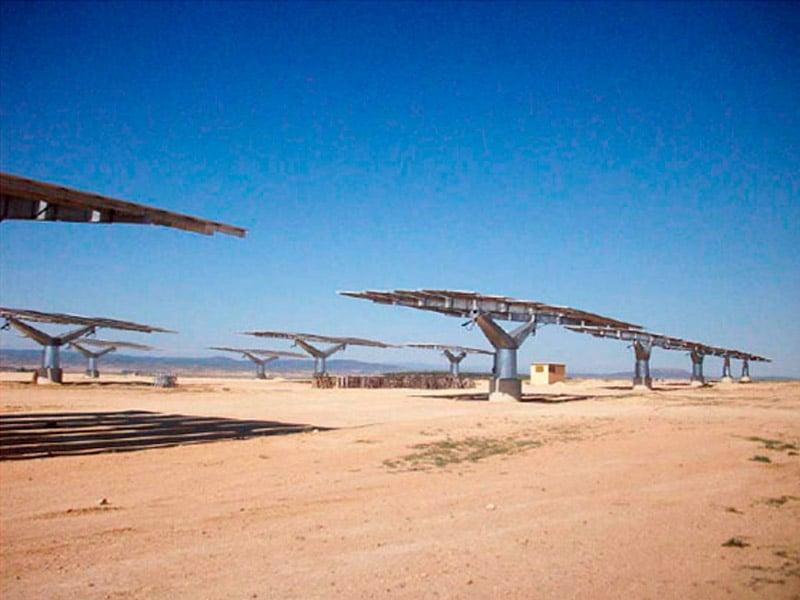 Instalacion fotovoltaica, Ejea de los Caballeros