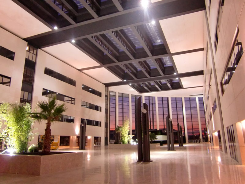 Proyectos LEVITEC, oficinas Nayade