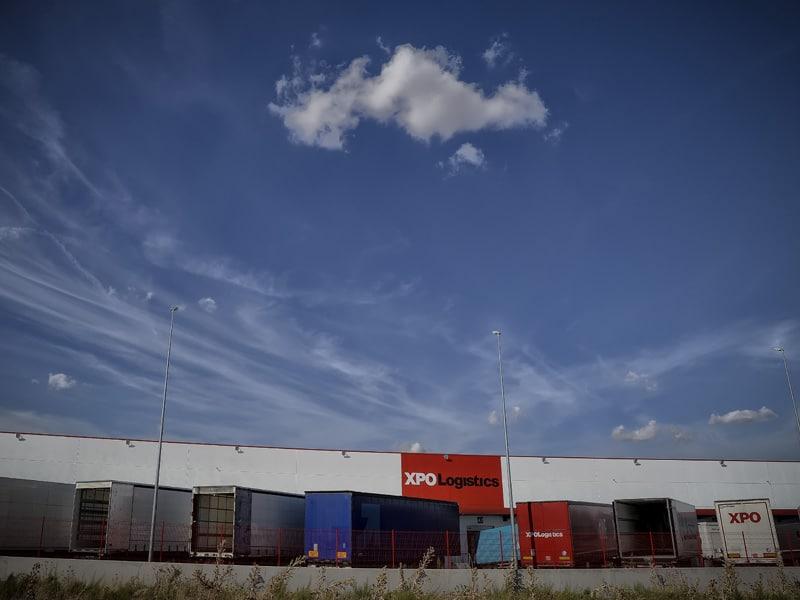 levitec proyecto XPO Logistic nave