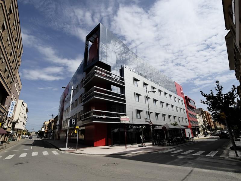 levitec proyecto hotel ciudad de binefar